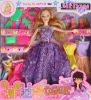 plastic doll with dress