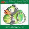 plastic duck keychain