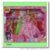 plastic fashion doll dress for kids