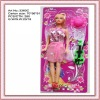 plastic fashion girl toy doll for baby