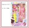 plastic fashion long hair doll for kids
