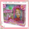 plastic fashion newest toy doll for girl