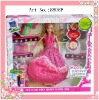 plastic fashion toy doll for girl