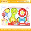 plastic funny toy baby rattle