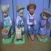 plastic garden dolls