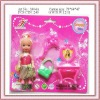 plastic lovely baby toys fashion doll