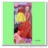plastic lovely fashion doll for kids