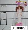 plastic lovely girl doll toys