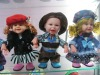 plastic lovely music dolls