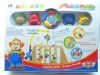 plastic musical toy baby rattle