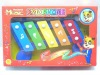 plastic musical toy beat zither