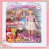 plastic newest fashion beautiful baby doll for girl