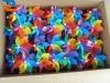 plastic pinwheel: Seven color Spinning Garden Stake