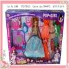 plastic princess series dolls for babies