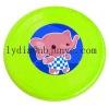 plastic promotion frisbee