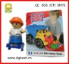 plastic promotional digger rooter driver figure