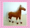 plastic puzzle animal toys (horse)