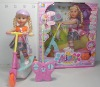 plastic r/c doll toy skateboard with music dance with light