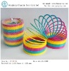 plastic rainbow Spring  toys