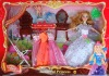 plastic toy, doll set