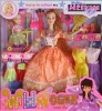 plastic toy, doll set