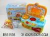 plastic toy kitchen play set w/sound&light