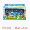 plastic toy smurfs toy