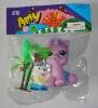 plastic toy, toy animal, bear, pony