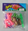 plastic toy, toy animal, dag, pony