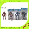 plastic transformable robot educational toy