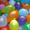 playing big 3# water latex balloon
