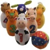 plush baby bowling ball set
