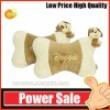 plush dog shaped pillow OEM 201202702