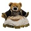 plush home decoration toy teddy bear with cloth