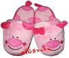 plush soft cute pig slippers toy MT5954