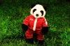 plush stuffed panda