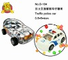 police car candy toy (5g compressed candy)