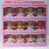 promotion toy lovely baby doll toy set