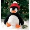 promotional christmas gift toy/christmas penguin soft toy