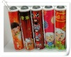 promotional plastic laser kaleidoscope with big crystal made in china for kids