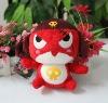 promotional red plush toy dog doll custom plush dolls