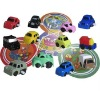 puzzle tracking Wind up car 12 sets
