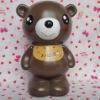 pvc bear shape coinbank