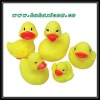 pvc promotional pvc duck toys for babies and kids
