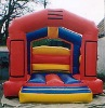 red-blue yellow bouncy castle CL551