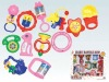 rock&bell baby toy set