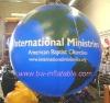 round helium balloon/promotion balloon/inflatable balloon