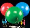 round natural latex balloon