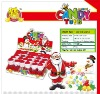 santa claus candy toy