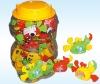 sea animal toys with 4g jelly bean